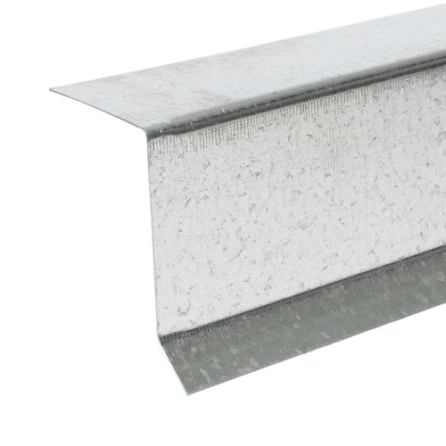 Amerimax 1.5-in x 10-ft Galvanized Steel Drip Edge