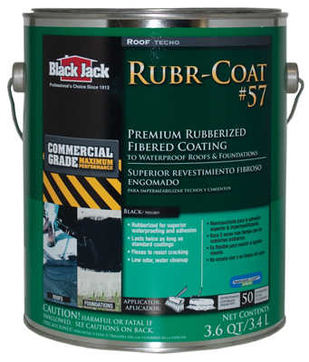 GARDNER-GIBSON 3.6 QT Pro Series #57 Rubberized SBS Roof Coating
