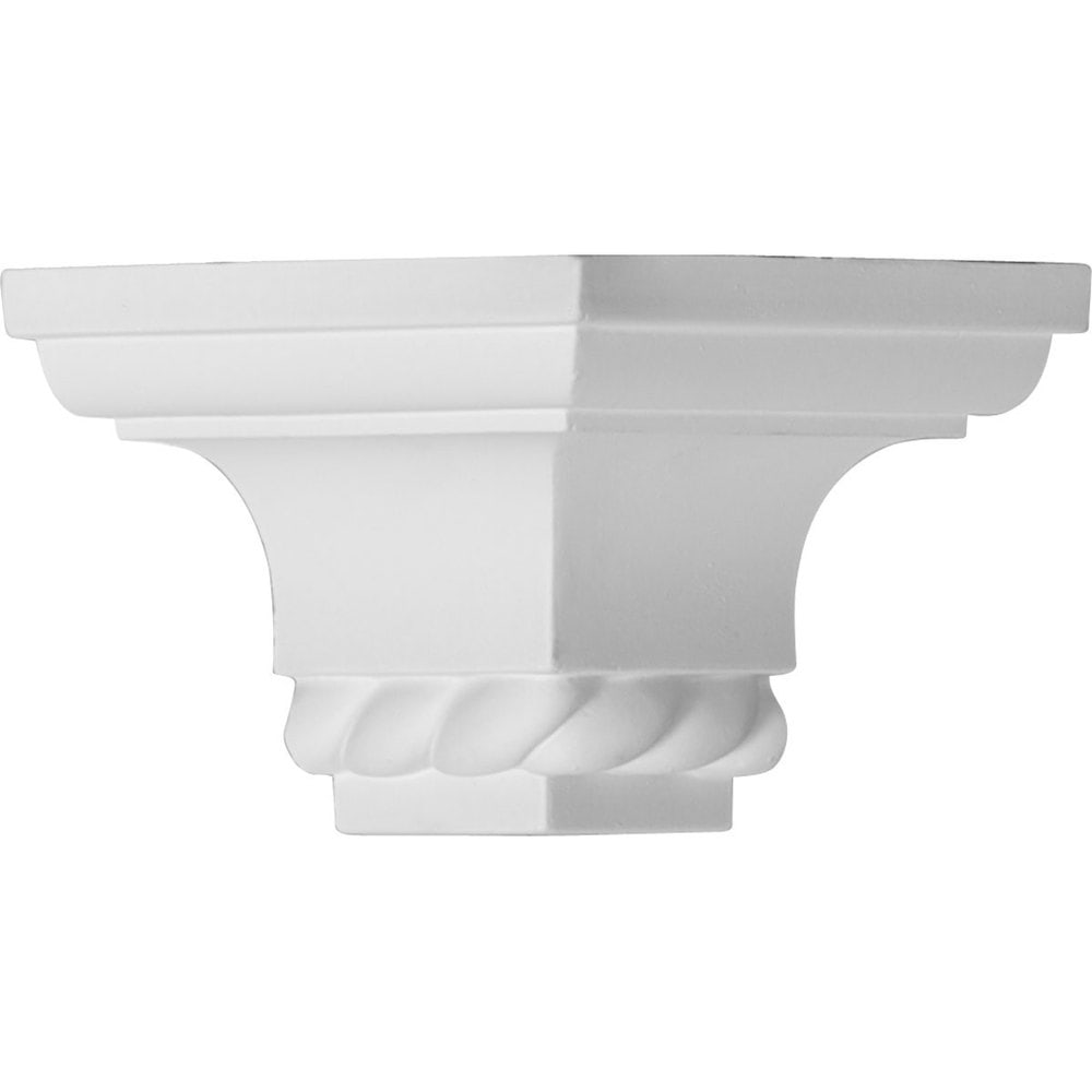 Ekena Millwork Polyurethane Crown Moldings/Outside Corner for Molding MLD02X02X06LN / 2 1/4'P x 2 1/4'H