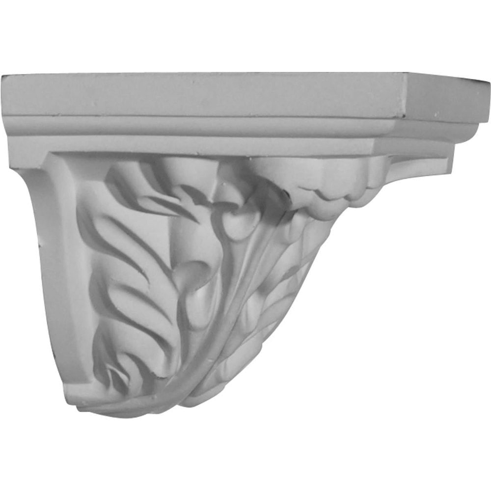 Ekena Millwork Polyurethane Crown Moldings/Outside Corner for Molding Profiles / 3 5/8'W x 2 7/8'H