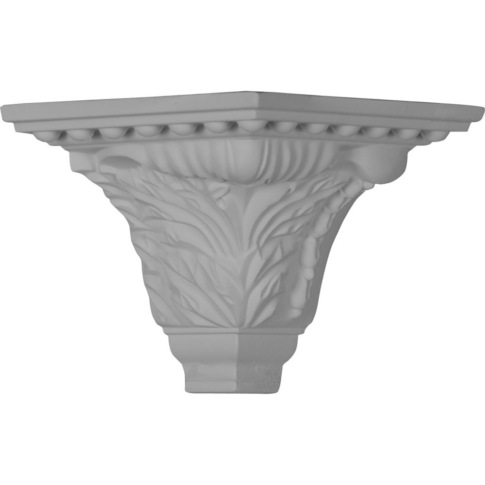 Ekena Millwork Polyurethane Crown Moldings/Outside Corner for Molding MLD04X05X06WA / 5 1/8'P x 4 3/4'H