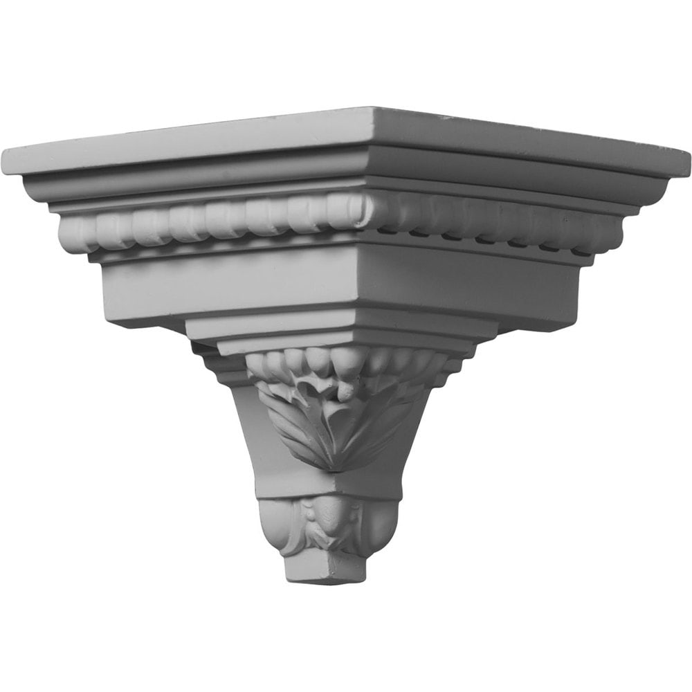 Ekena Millwork Polyurethane Crown Moldings/Outside Corner for Molding MLD05X05X07AT / 5 1/4'P x 5 1/4'H