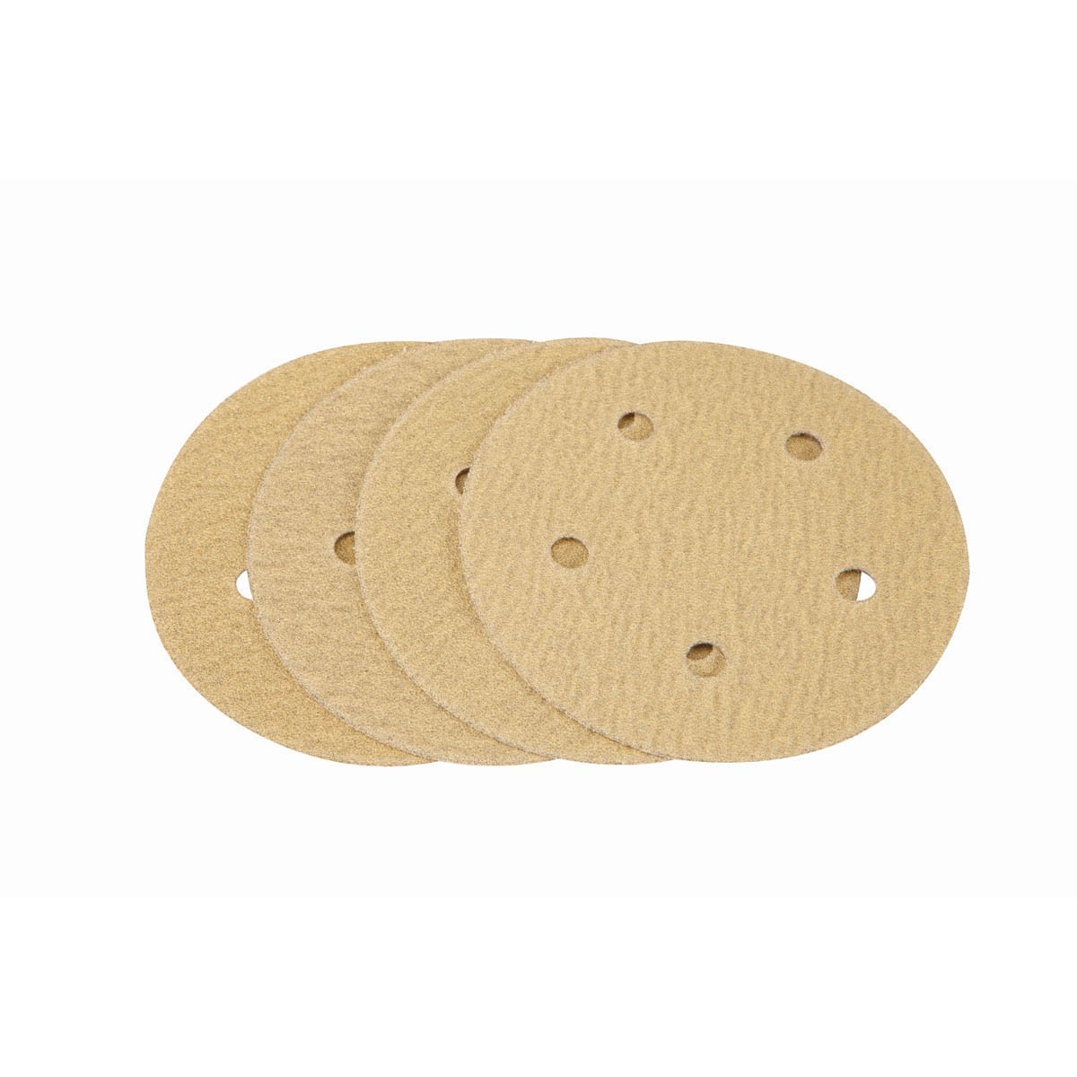 5 in. 100 Grit Hook and Loop Sanding Discs 4 Pc